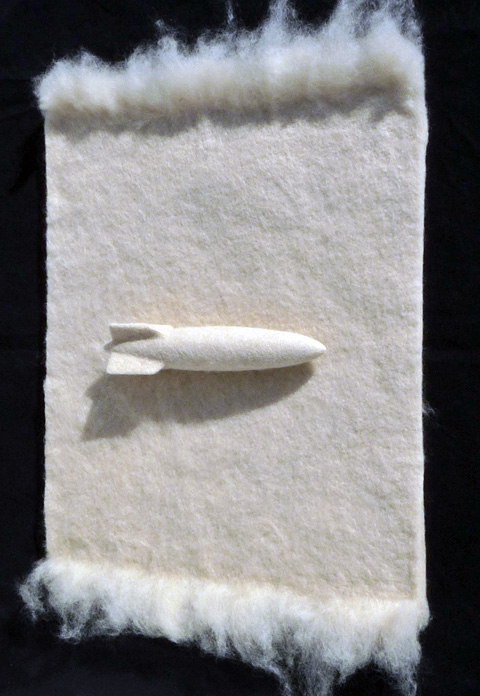 Gary Schmitt - Toypedo - needle felting