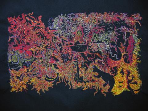 Paul Nosa - 750 Ways - machine embroidery