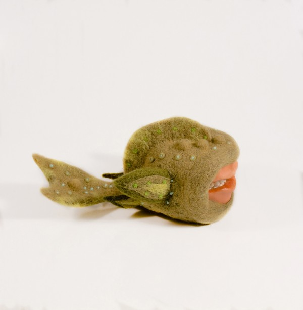 Kit Lane - character felt...is it a fish?