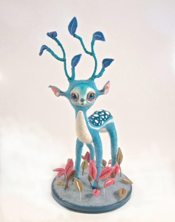 Jezabel Nekranea Blue Deer - her version of character felt.