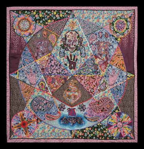 James Fox - Fraternity (GANGSTA) - quilt