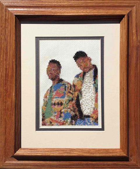 Davey Gravy - Jazzy Jeff & The Fresh Prince cross stitch
