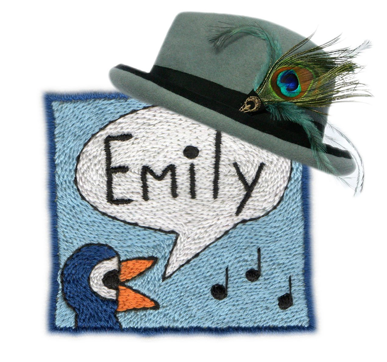 Emily Moe, Milliner and author of the Millinery Operations for Mr X Stitch