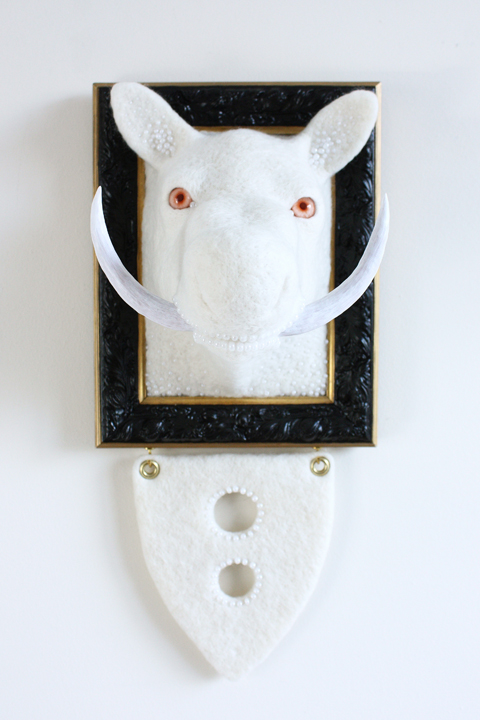 Zoe Williams - Penumbra - Needle Felting