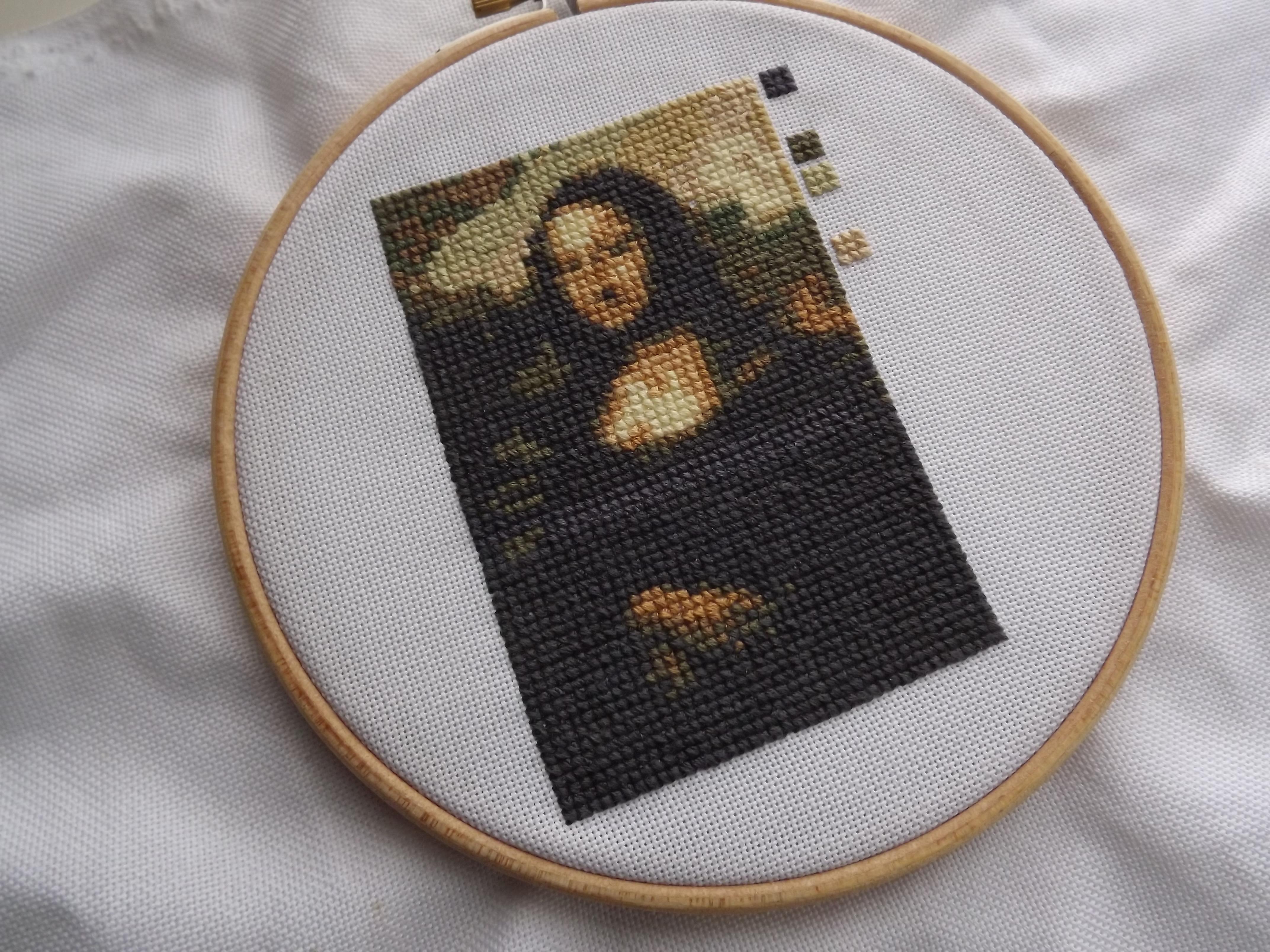 MrXStitch - Mona Lisa 101 - Cross Stitch
