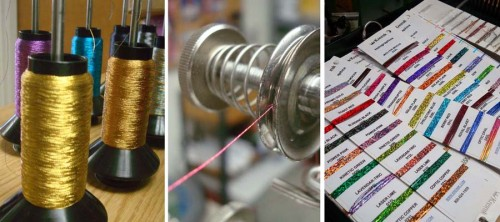 Making Kreinik color cards