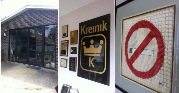 Entering the Kreinik factory
