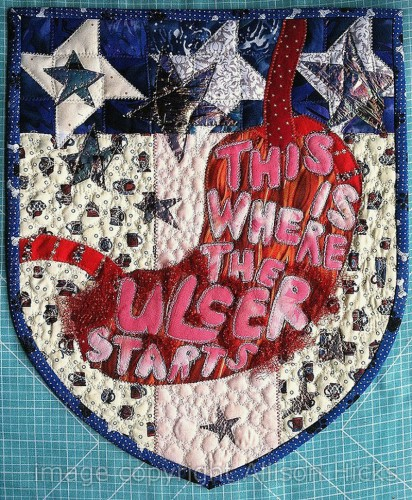 Allison Hicks - Americana - Applique Art Quilt (2013)