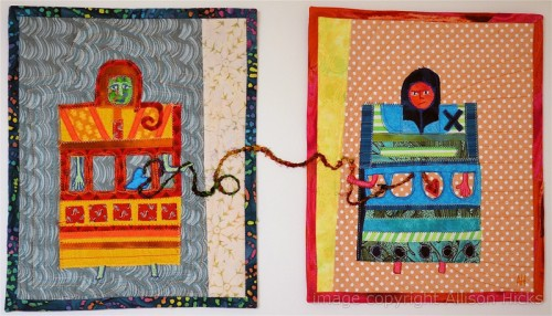 Allison Hicks - Distance - Applique Art Quilt (2012)