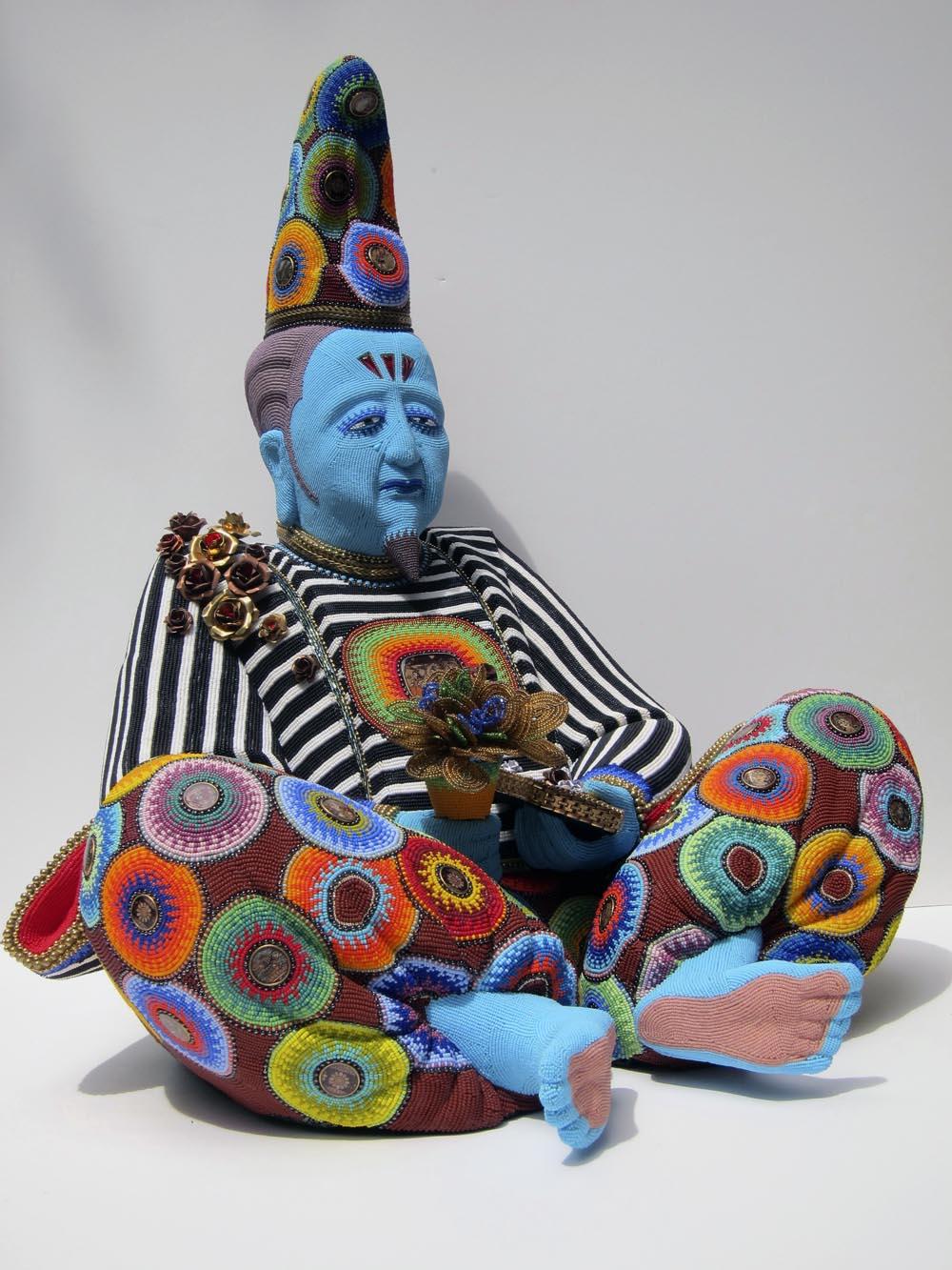 Jan Huling - Pasha - beadwork