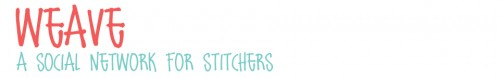 Are you part of Weave - A Social Network for Stitchers