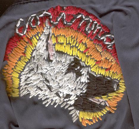 William Schaff - Corinna. First embroidery. 2005.