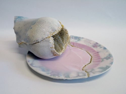 Harriet Lawton - Kintsugi Plate