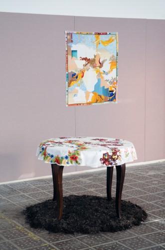 Lisa Reichmann - Den Stickenden - installation