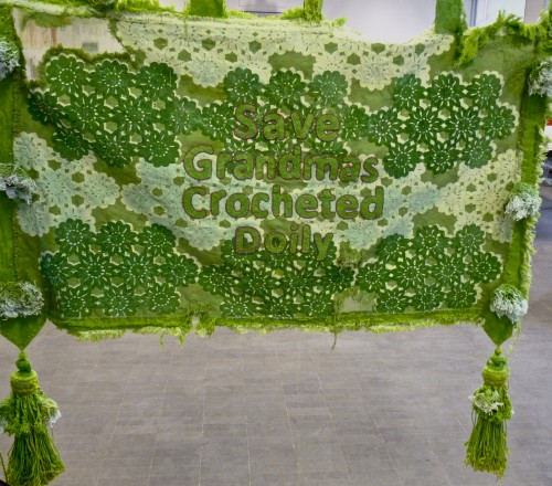Emma Blackburn - Save Grandmas Crocheted Doily