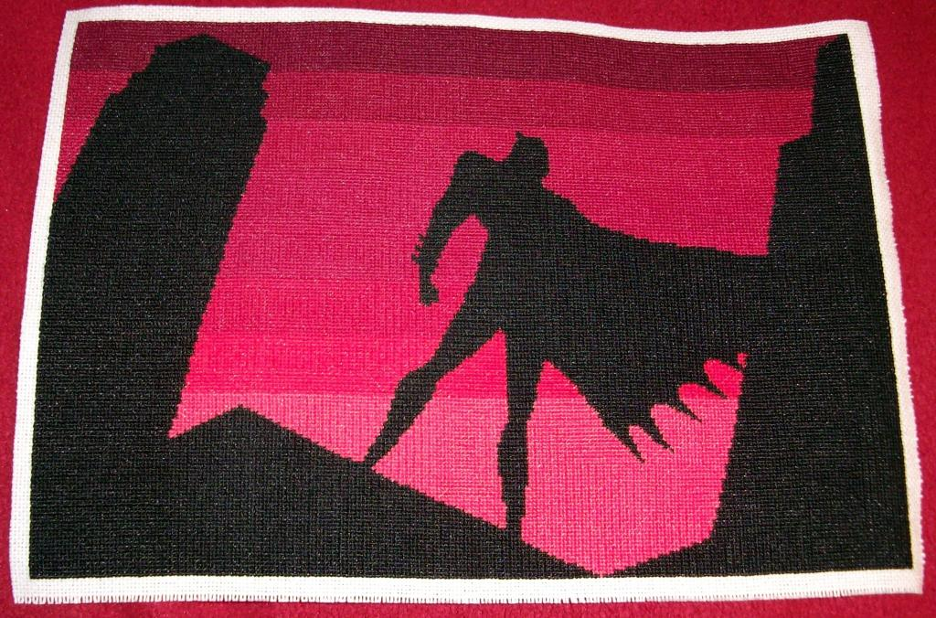 Krafty Karusu's Batman Cross Stitch