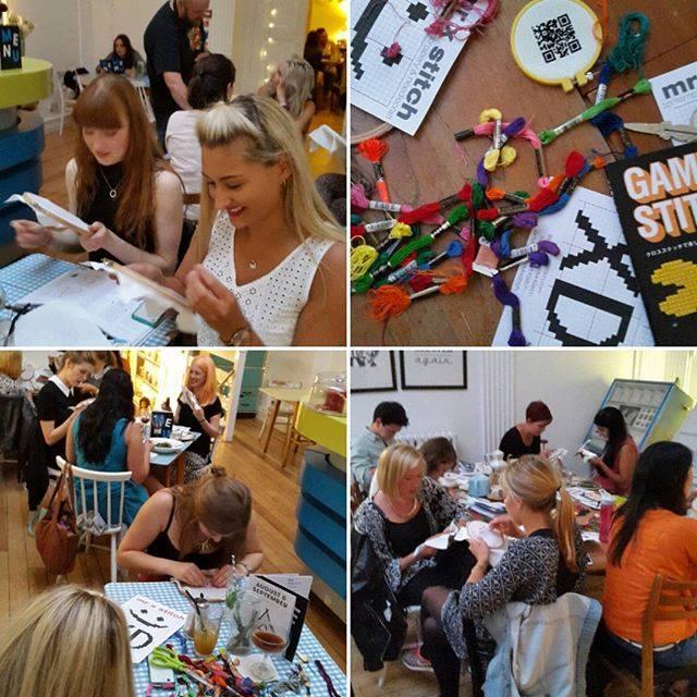 X Stitch Hangout London August 2015
