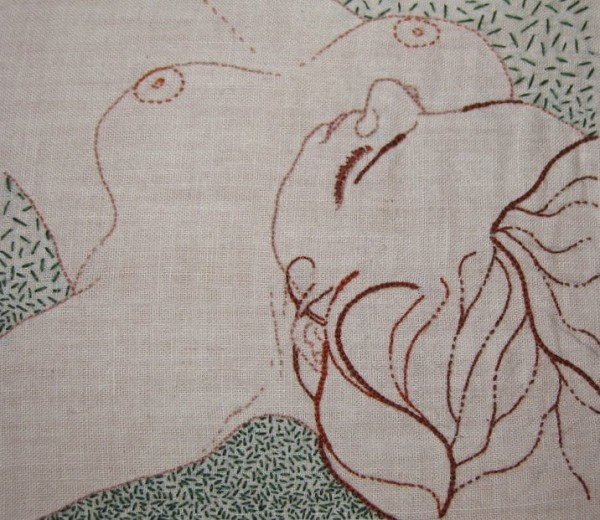 MeaganIleana - Untitled - Hand Embroidery (2011)