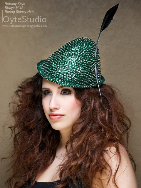 Etsy Boring Sidney St Patrick's Day Hat - Robin Hood Sequin Hat