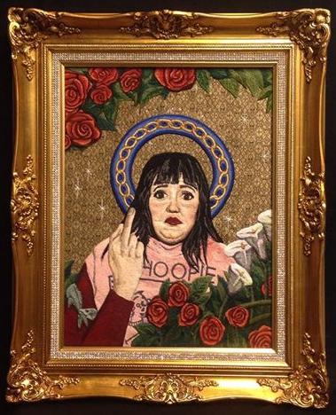 Amy Fredman - Rita - Machine Embroidery