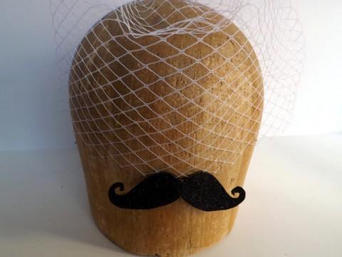 Chef Bizzaro Moustache Veil