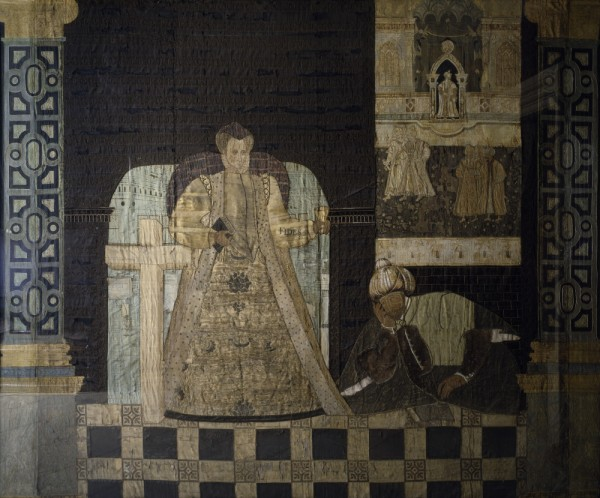 Detail from Hardwick Hall Hangings, (c)National Trust