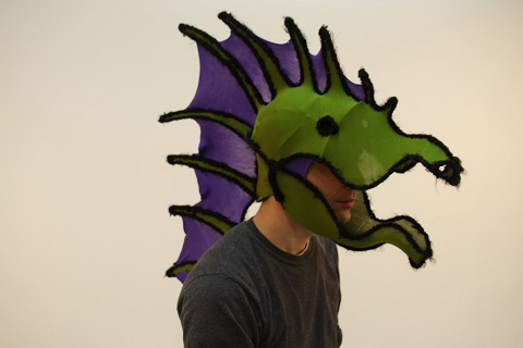 Seth Brenneman - Green Dragon Mask