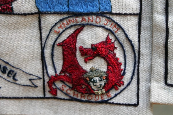 Stitched personalisation at the Great Tapestry of Scotland