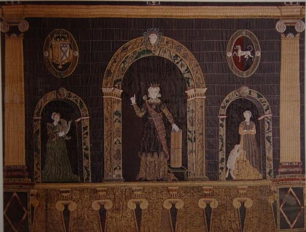 Hardwick Hall, Penelope Hanging. © National Trust