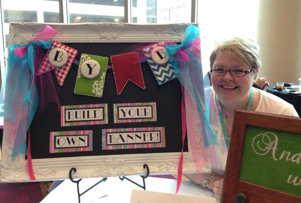 Needlepoint designer Robin Givens also writes stitch guides for Hilary Jean Designs needlepoint canvases.