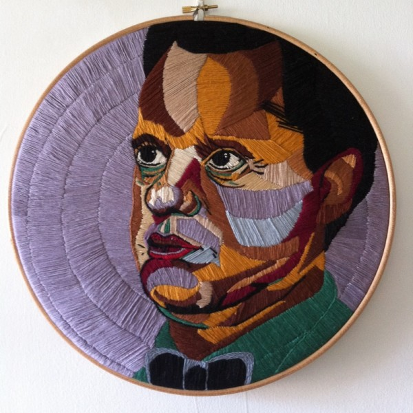 Luisa Zilio - Dylan Thomas - Hand Embroidery