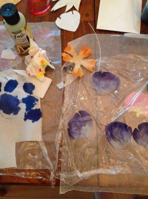 painting petals
