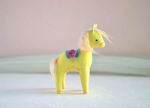 Woodland Pony by Sabina Gibson (Soft Sculpture)