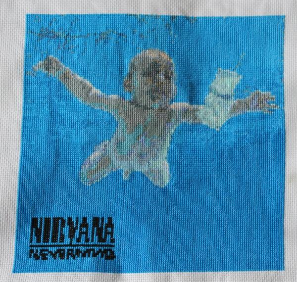 Mr X Stitch - Nevermind - Cross Stitch