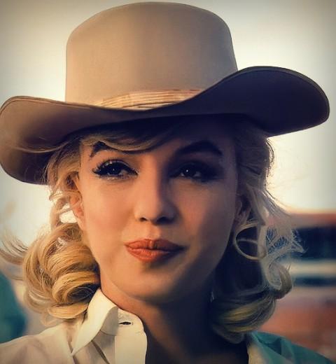 marilyn monroe cowboy hat