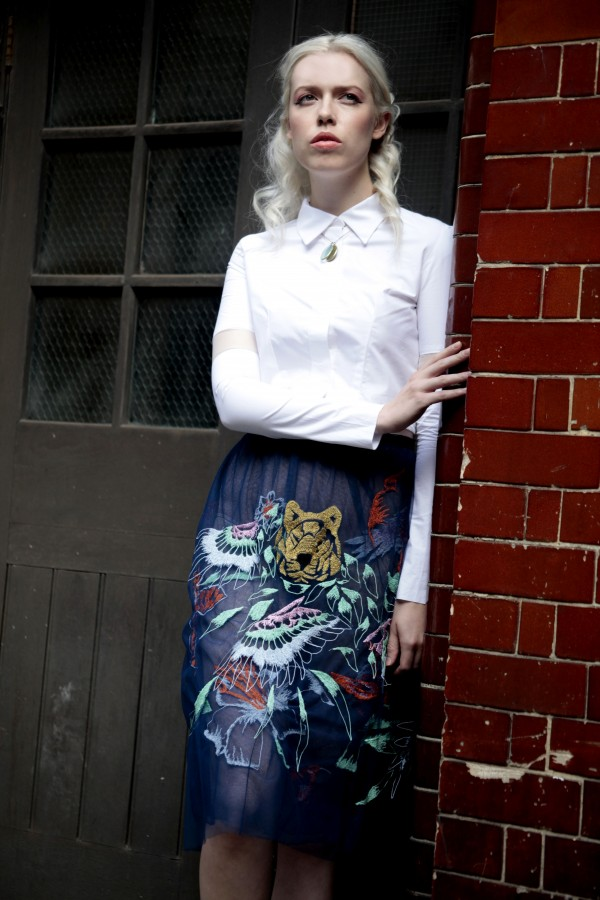 Hand & Lock SS15 Collection - Jungle Skirt