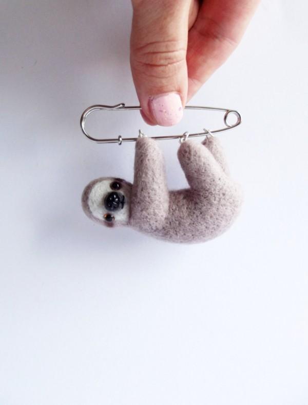 Natasha Krajacec, ShishLOOKdesign Wonderfully Weird Needle Felt
