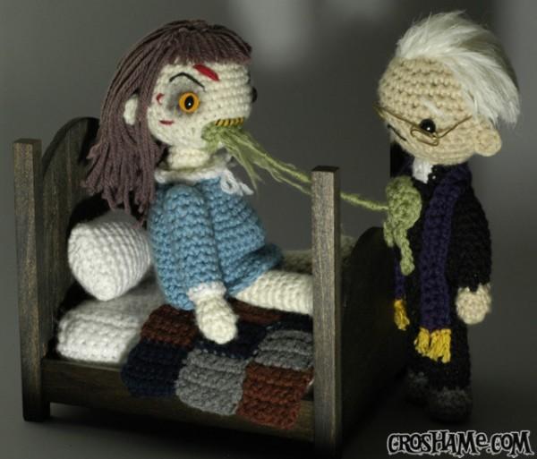 Exorcist Playset With Croshame