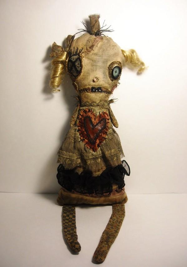 Junker Jane ooak  art doll