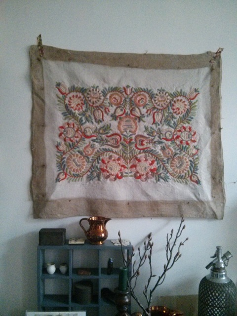 Faded Embroidery - Ruth Singer - Pinning the Past - 09