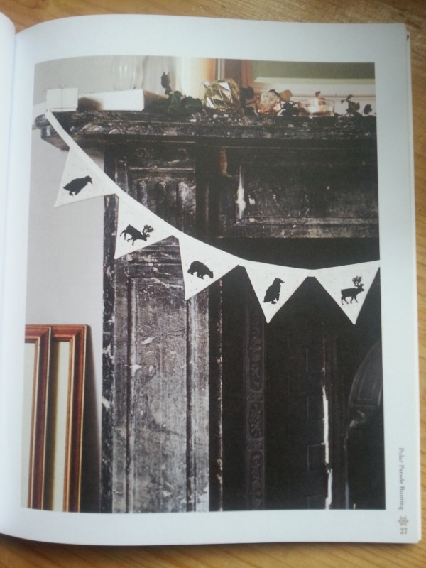 Stitch The Halls by Sophie Simpson - Bunting