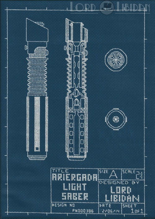 Lightsaber Blueprint