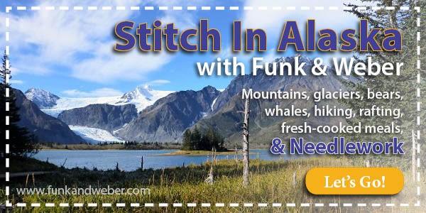 Stitch In Alaska Tour, August 5-11, 2015