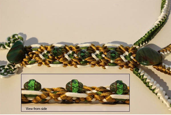 Julia Titchfield's knot embellishment for the 2014 Prize for Embroidery Competition