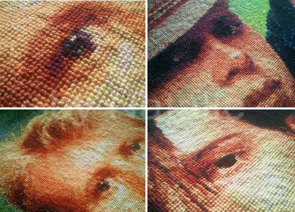 Natasha's Depeche Mode Cross Stitch (close ups)