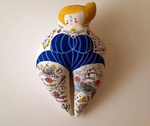Big Momma by Blue Raspberry Designs (Soft Sculpture)