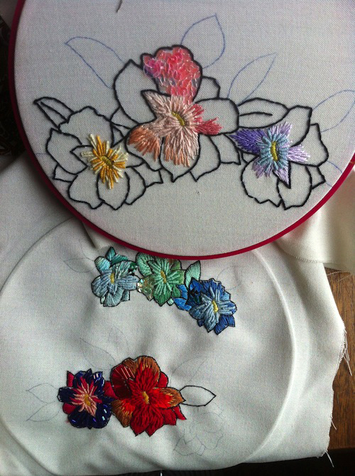 Work in progress by Casatienda de Amelia B (Hand Embroidery)