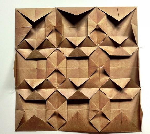 Paper quilt, 2013.