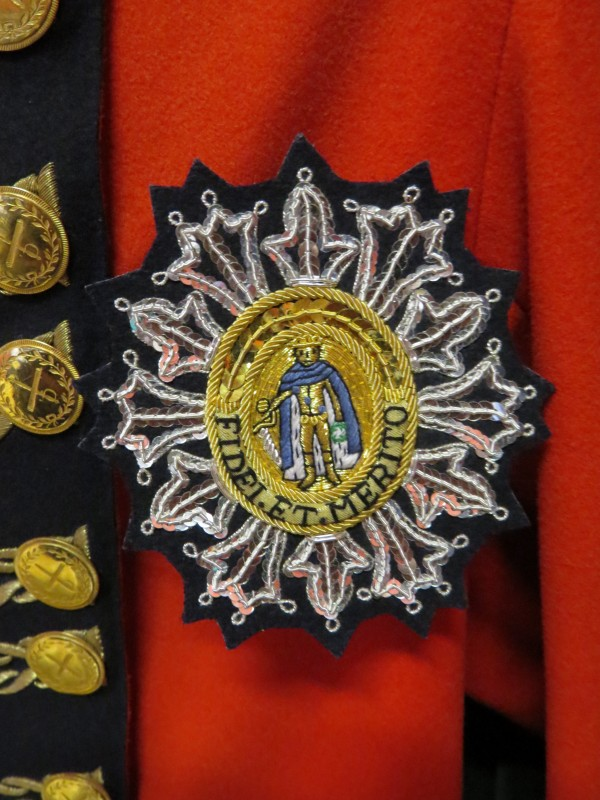 Order of St Ferdinand embroidery by Hand & Lock