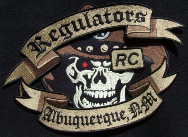 Regulators Custom Shaped Patches